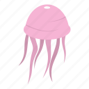 animals, fish, interesting, jellyfish, ocean, octopus, sea icon