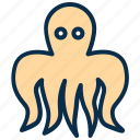 animal, food, marine, octopus, sea food, tentacles