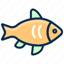 fish, food, marine, ocean, sea food, seafood icon
