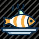cook, fish, food, restaurant, sea food icon