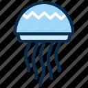 aquatic, jelly fish, marine, ocean, sea, sting icon