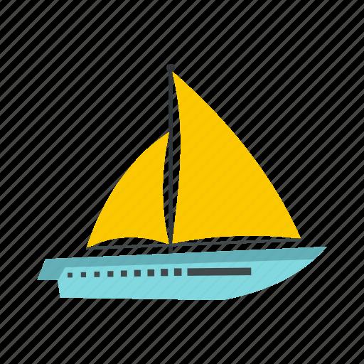 big, boat, ocean, sea, ship, yacht, yachting icon