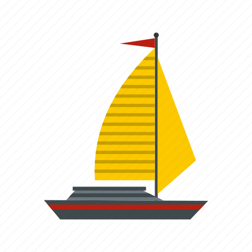 boat, ocean, sail, sea, ship, yacht, yachting icon