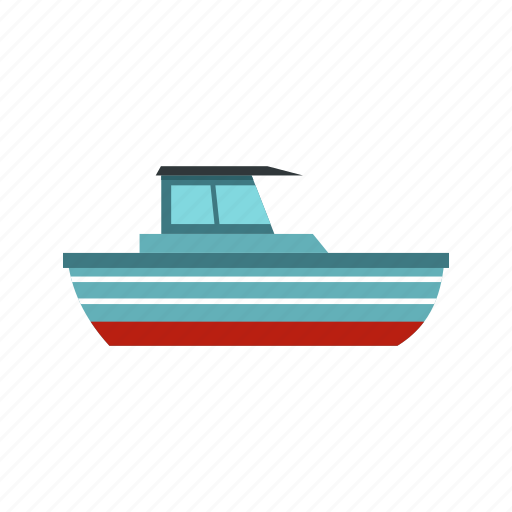 boat, motorboat, ocean, sea, ship, yacht, yachting icon