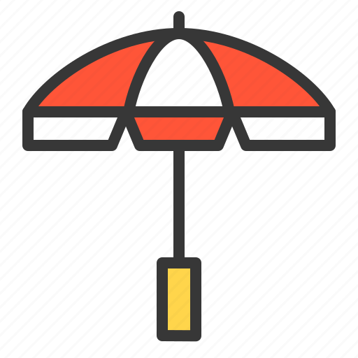 beach, protection, summer, umbrella icon
