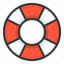 life buoy, life ring, sea, swim, swim ring icon