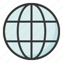 earthball, location, map, place, travel icon
