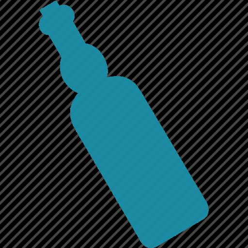 bottle, glass, ocean, sea icon