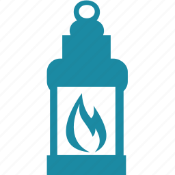 fire, lamp, ocean, sea icon