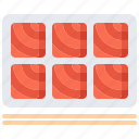 eat, fish, food, restaurant, sashimi, seafood, sticks icon