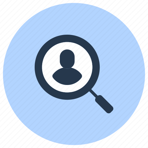 employee, file, find, magnifier, people, search icon