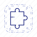 concept, puzzle, puzzle piece icon