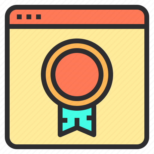 award, marketing, search, seo, web icon