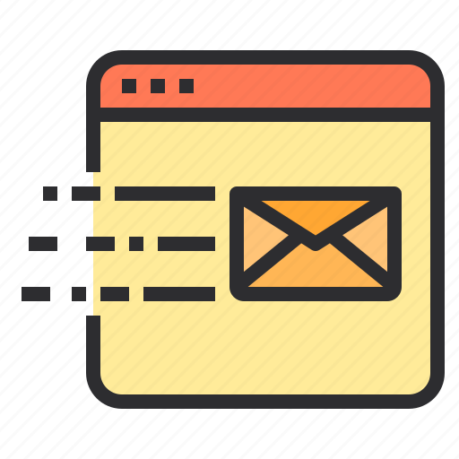 email, marketing, search, seo, web icon