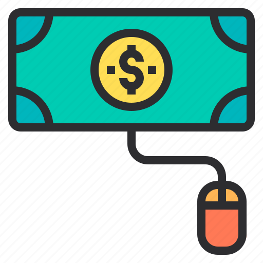 click, marketing, pay, per, search, seo icon