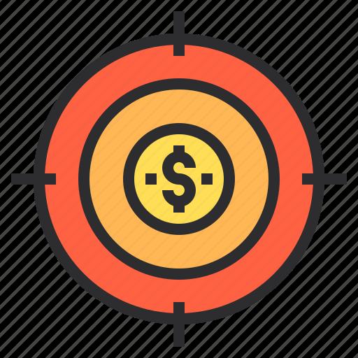 marketing, search, seo, target, web icon