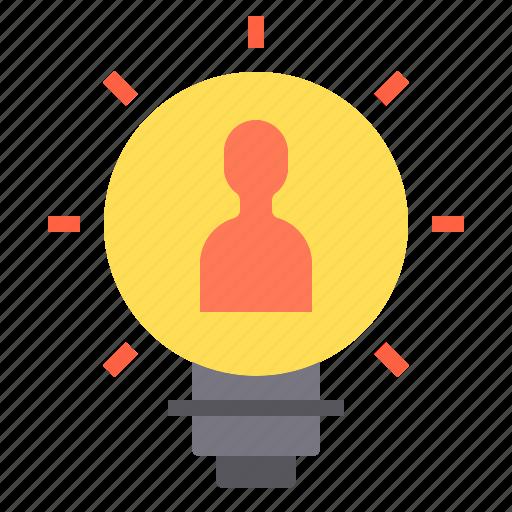 idea, marketing, search, seo, web icon