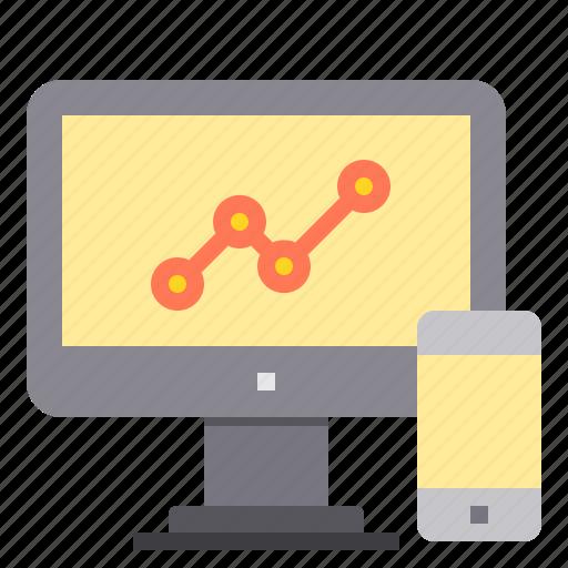 marketing, search, seo, statistic, web icon