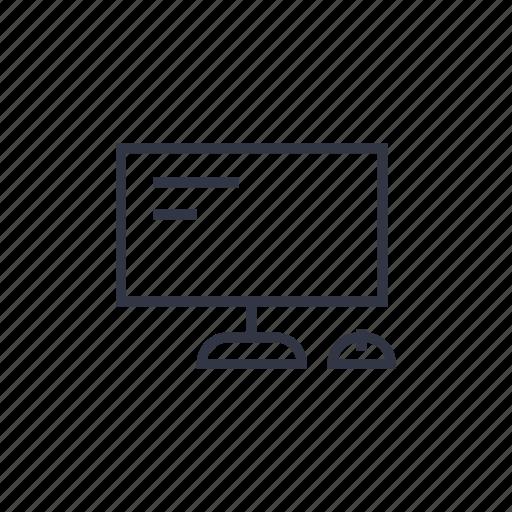 computer, internet, modern, monitor, pc, seo, technology icon
