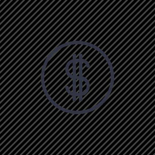 banking, dollar, finance, income, money, salary, seo icon