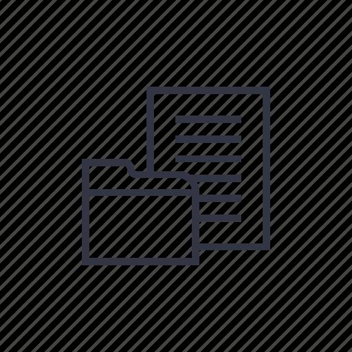 business, directory, document, file, folder, organize, seo icon