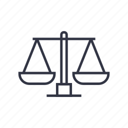attorney, balance, law, lawyer, legal, scale, seo icon