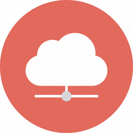 Cloud computing icon vector png