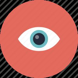 eye, eyeball, eyesight, look, looking, searching, view, vision, watch, watching, zoom icon