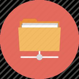 backup, cloud, communication, connection, data, document, documents, exchange, file, folder, information, internet, network, web, website icon