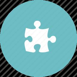 business, element, jigsaw, piece, problem, puzzle, solution, solve, solving, success icon