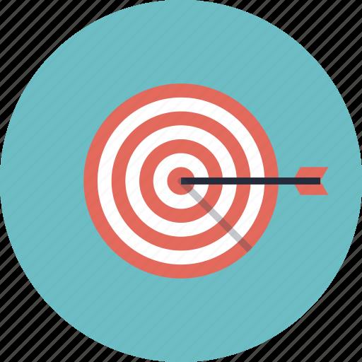 Arrow, bull's eye, business, goal, growth, marketing ...