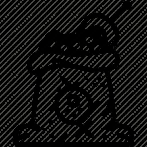 coffee, orient, pepper, sack, seasoning, spice, yumminky icon