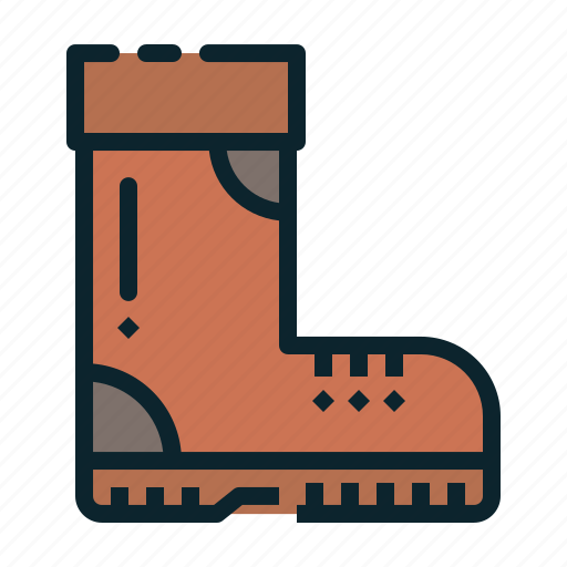 boot, cold, footwear, protection, weather, winter icon