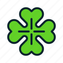 day, irish, luck, nature, patrick, saint, shamrock icon