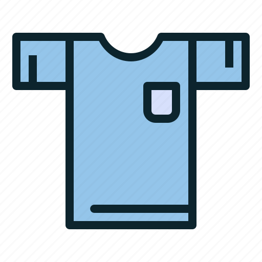 casual, clothing, cotton, dress, shirt, tee icon