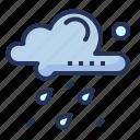 rain, day, cloud, drop
