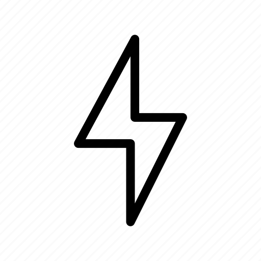 bolt, energy, flash, power icon