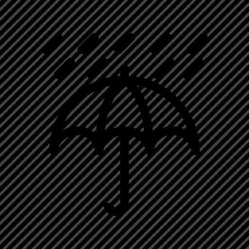 protection, rain, safety, umbrella icon
