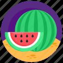 watermelon, fruit, edible, organic food, healthy food