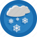 cloud, season, snow, snowing, weather, winter icon
