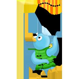bird, spring, twitter icon