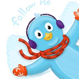 bird, follow me, twitter icon