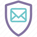 antispam, security, shield, spyware icon
