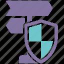 behavior, security, shield, spyware icon
