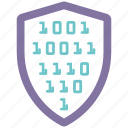 info, security, shield, spyware icon