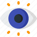 eye, look, see, view, visibility, vision, zoom icon