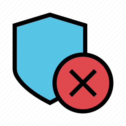 Delete, protection, remove, security, shield icon - Download on Iconfinder
