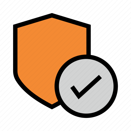 Done, protection, security, shield, tick icon - Download on Iconfinder
