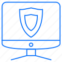 computer, protection, security icon