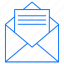 email, letter, message icon